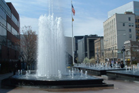 water fountain in White Plains
